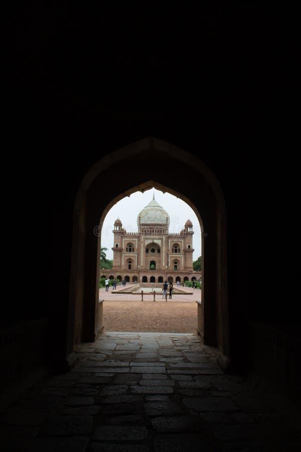 Safdarjung's Tomb, Deli, Índia fotos de stock