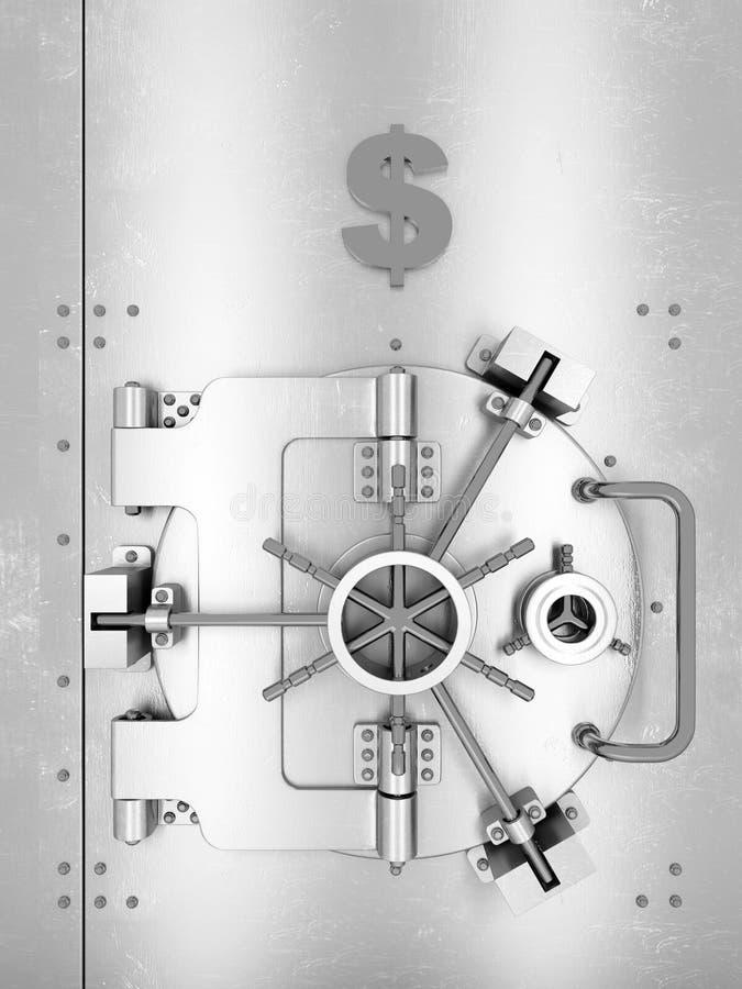 Download Safe stock illustration. Image of steel, safety, metallic - 25287200