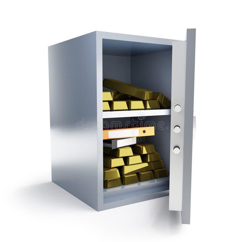 Download Safe bank stock illustration. Illustration of folder - 11446076