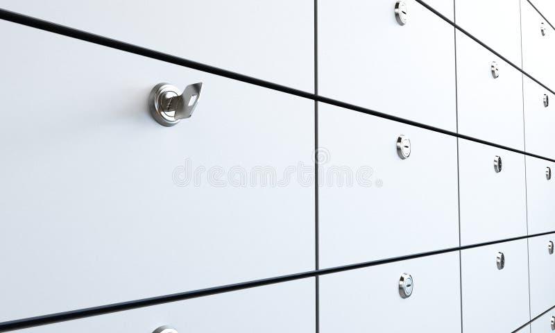 Safe bank stock photo