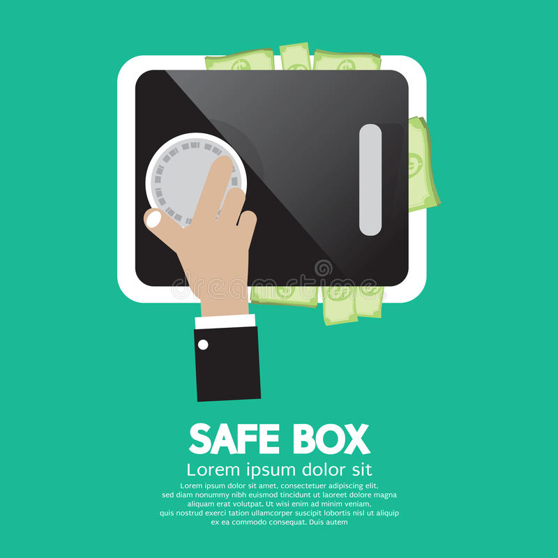 Download Safe Box stock vector. Illustration of password, security - 39508048