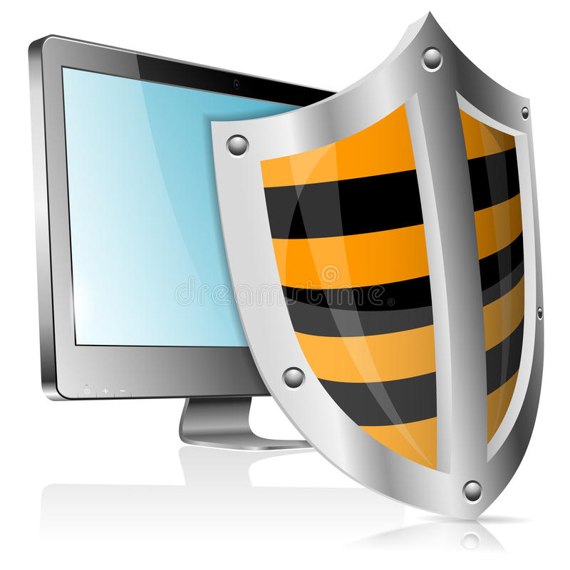Download Safe Computer Concept Royalty Free Stock Image - Image: 27299626
