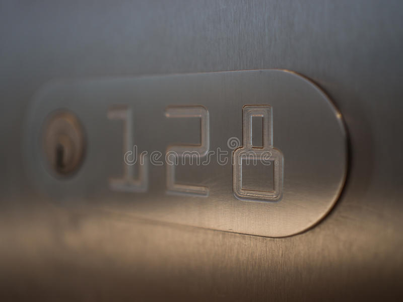 Safe deposit box royalty free stock image