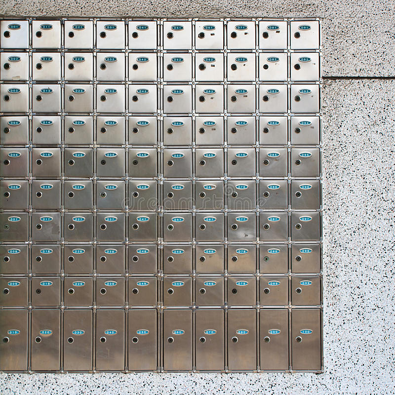 Download Safe deposit box on wall stock photo. Image of steel - 24987000
