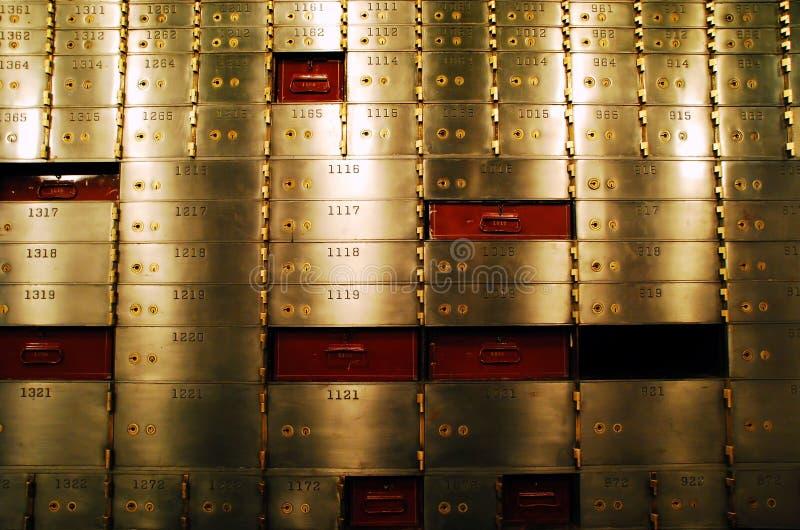 Download Safe deposit boxes stock photo. Image of boxes, vintage - 5265488