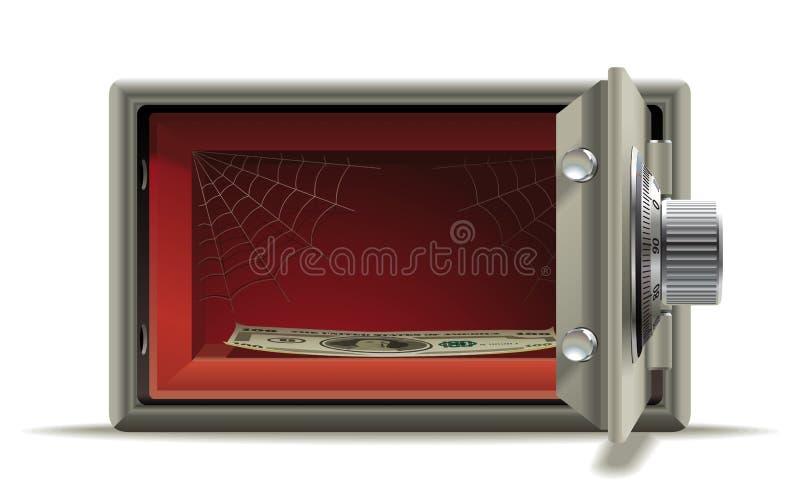 Download Safe deposit no money stock vector. Illustration of cash - 28292786
