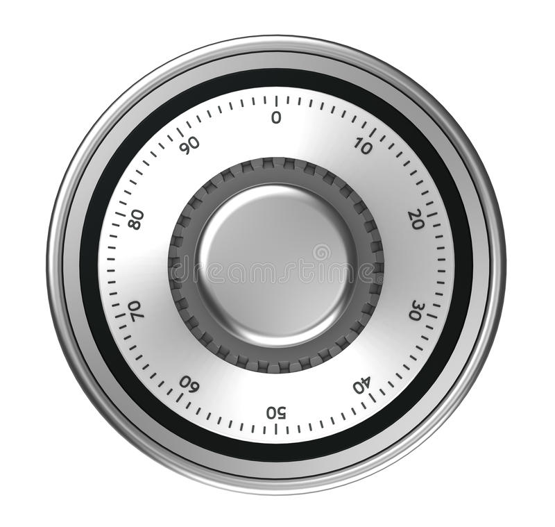 Safe dial vector illustration