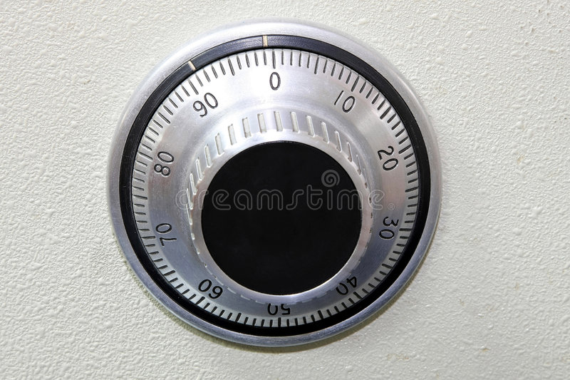Safe dial stock images