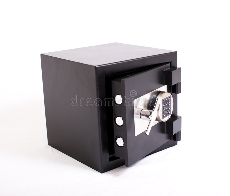 Download Safe With Door Opened Royalty Free Stock Image - Image: 7684976
