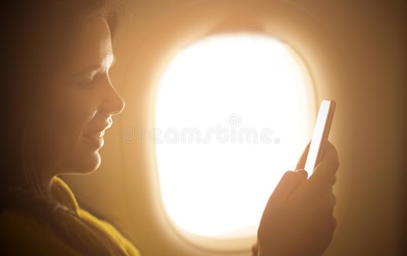 Safe flight.Leisure activity. royalty free stock images