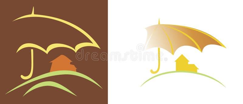 Safe home vector illustration