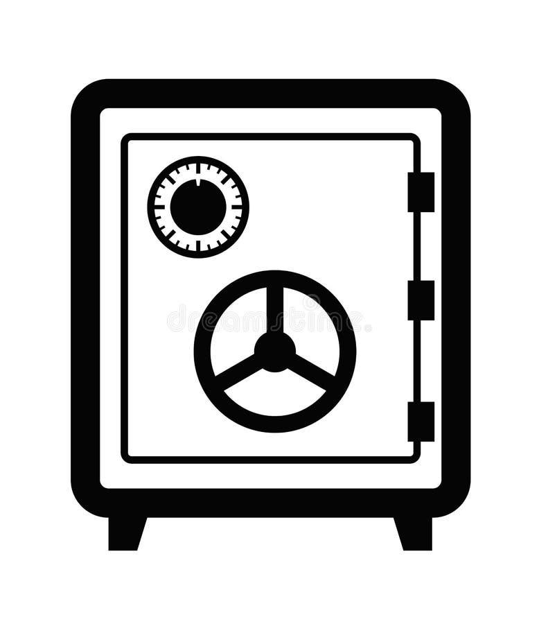 Safe icon stock illustration