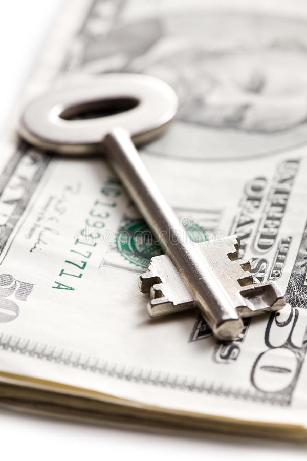 Download Safe Key With Money Stock Images - Image: 22261844