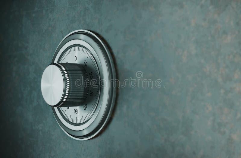 Safe lock stock photography