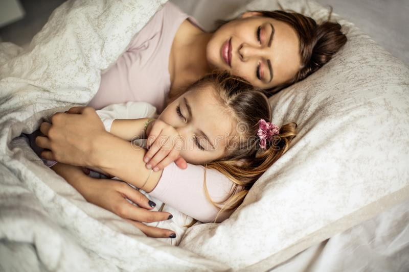 Safe in my arms royalty free stock image