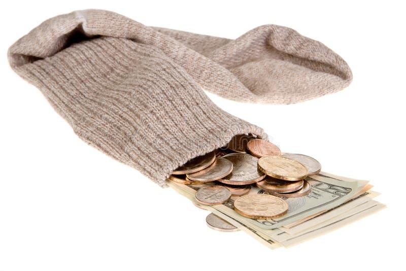 Download Safe sock stock photo. Image of paycheck, cash, hide, money - 6607170