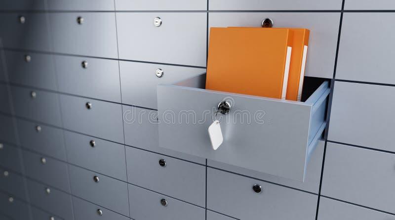 Download Safe Storage Of Documents Stock Image - Image: 17271801