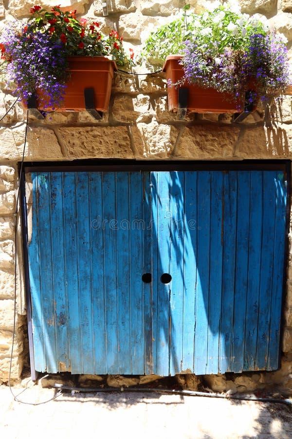 Safed - la ville de Kabbalists et d'artistes images libres de droits