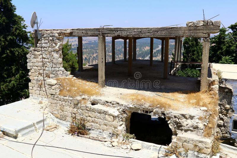 Safed - la ville de Kabbalists et d'artistes image stock