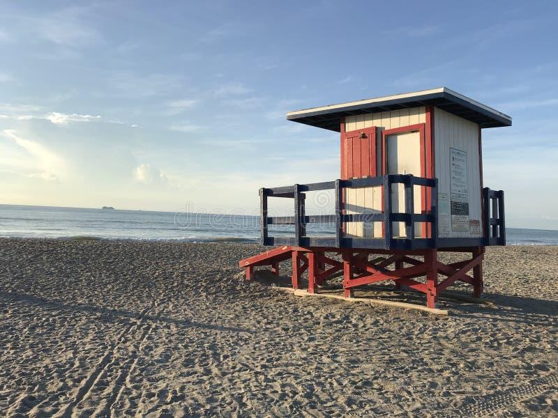 Safeguard House in Cocoa Beach Florida. Photo image stock photos