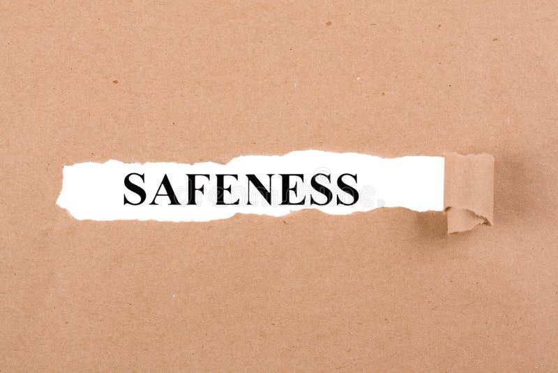 Safeness стоковые изображения