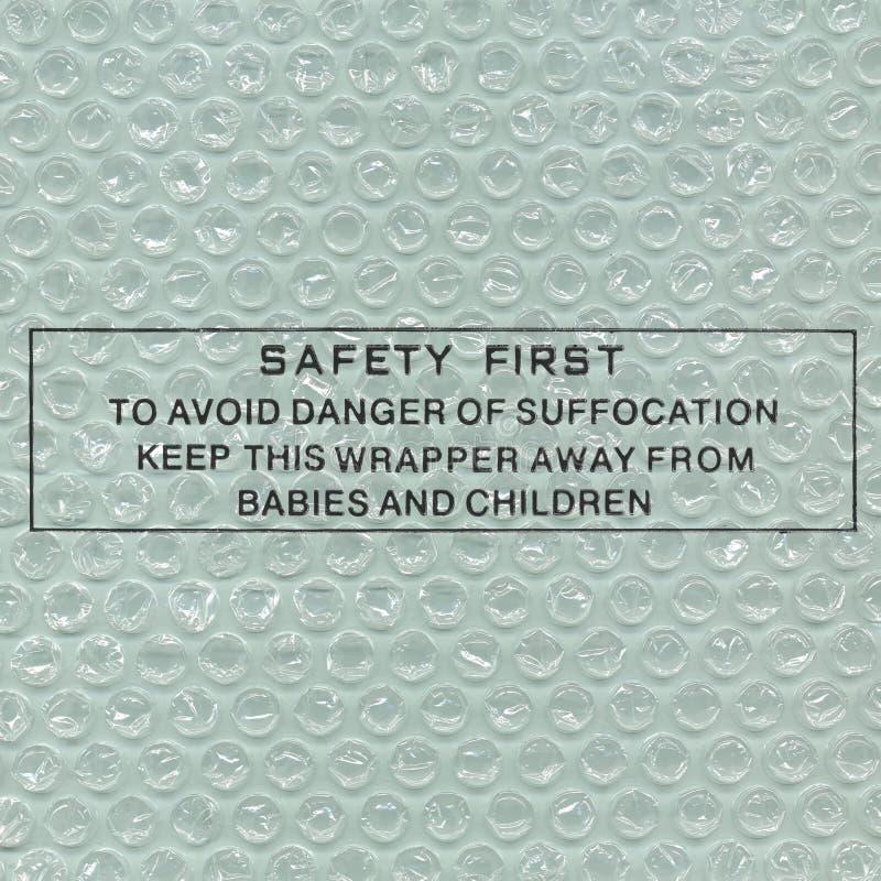 Safety advice stock photos