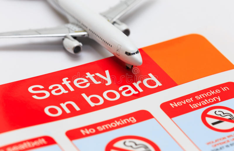Safety on board stock photos