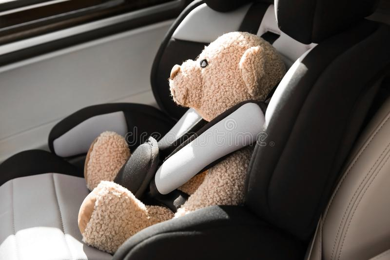 Safety car seat for baby royalty free stock image