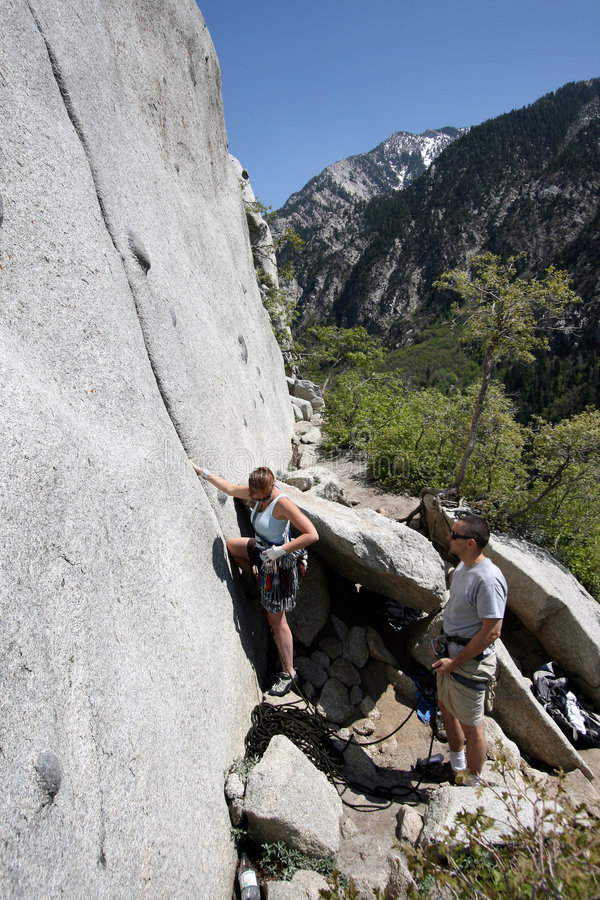 Download Safety check pre climb stock image. Image of ready, climbing - 2394399
