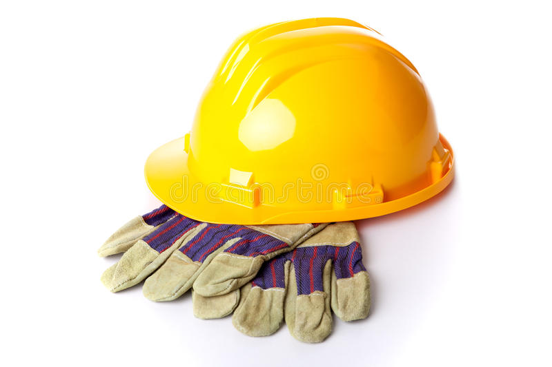 Safety construction royalty free stock photography