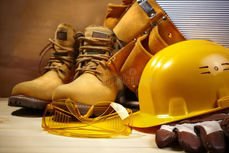 Safety Construction Stock Image
