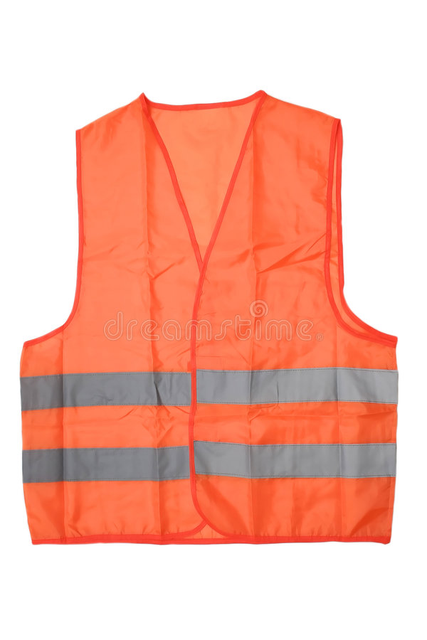 Safety construction jacket stock photo