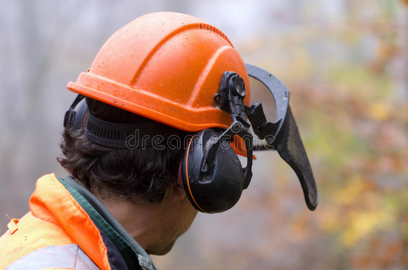 Safety equipment stock photo
