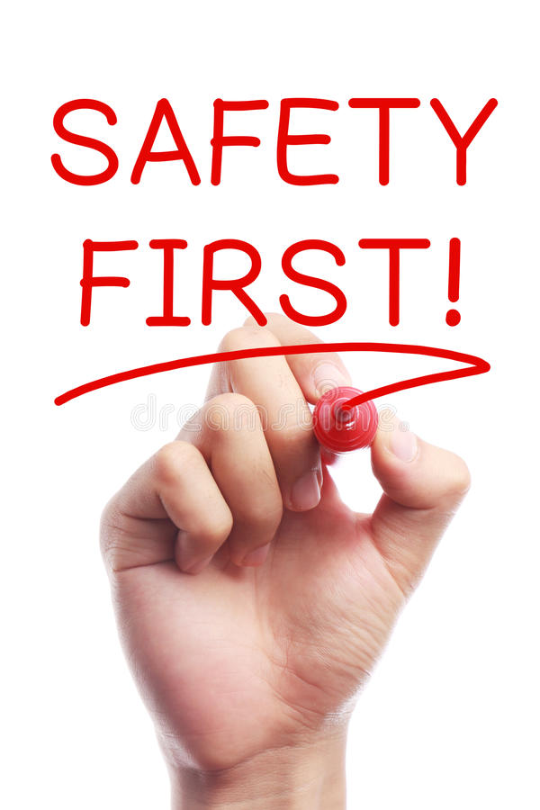 Free Safety First Royalty Free Stock Photography - 47026547