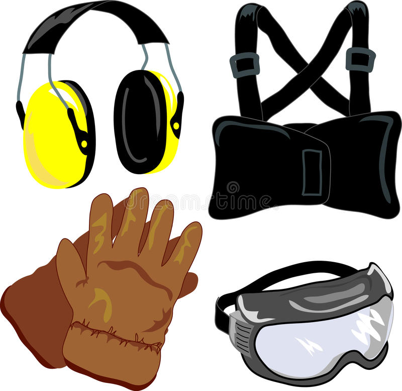 Safety Gear : PPE 2 Stock Image