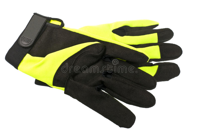 Safety Gloves royalty free stock images