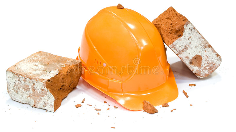 Safety helmet stock photos