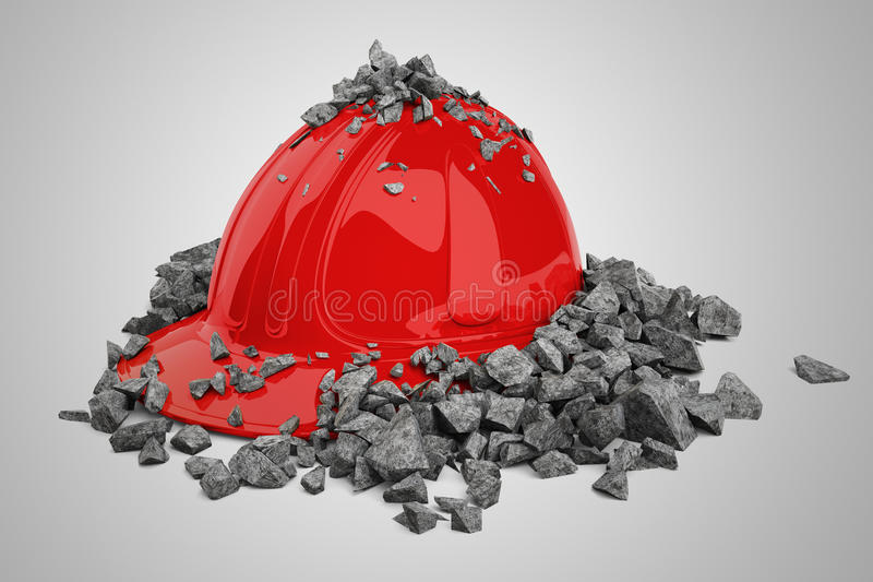 Safety Helmet. Royalty Free Stock Image