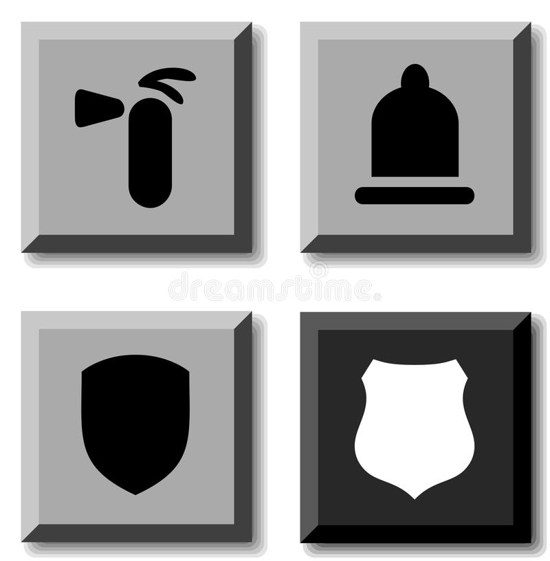 Safety icons.