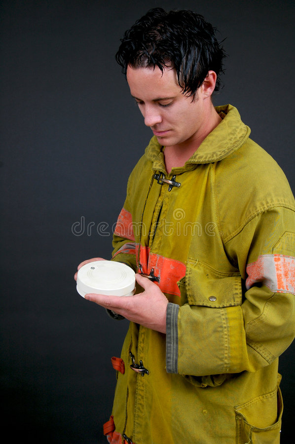 Safety Inspection royalty free stock image