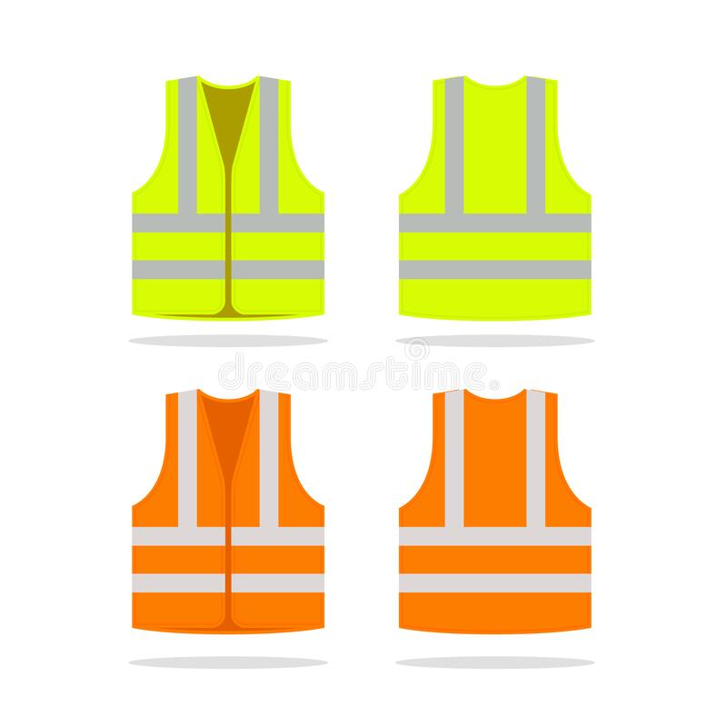 Free Safety Jacket Security Icon. Vector Life Vest Yellow Visibility Fluorescent Work Jacket Royalty Free Stock Photos - 215306828