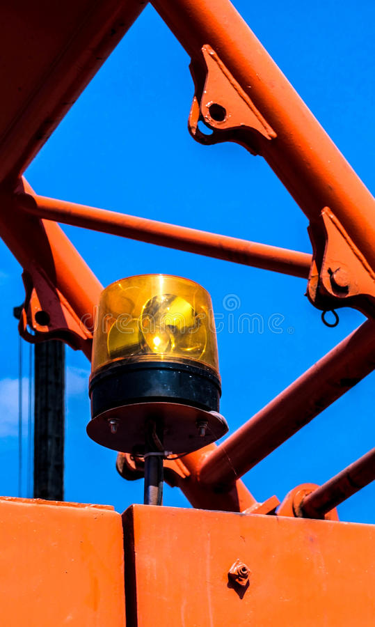 Safety light stock photography