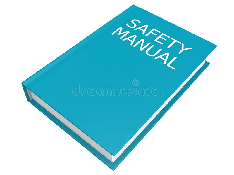 Safety Manual Book Royalty Free Stock Images