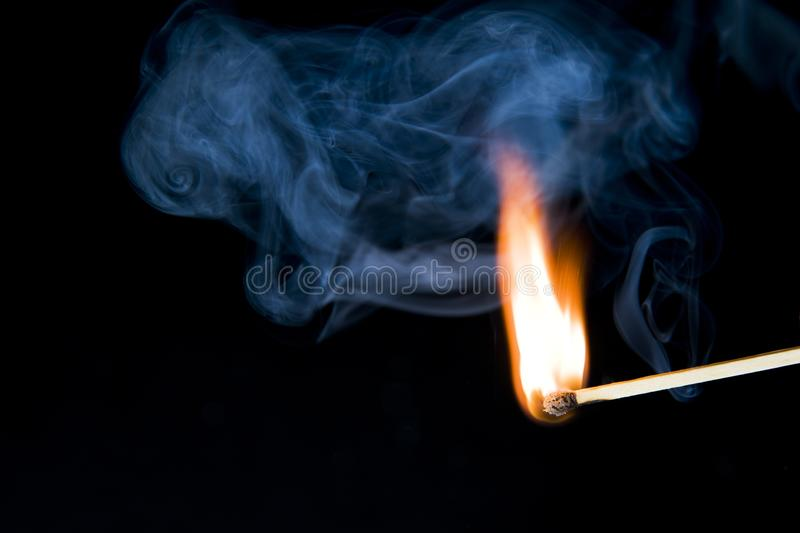 Download Safety match stock image. Image of darkness, match, smoking - 19836731