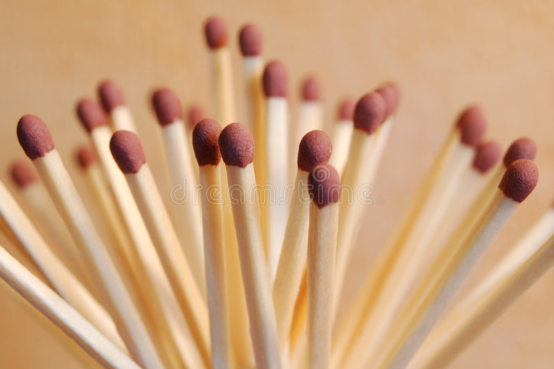 Safety Matches (high) Royalty Free Stock Images
