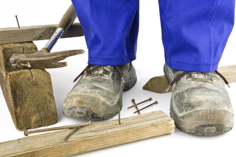 Download Safety shoes stock image. Image of heavy, artisans, risk - 24214473