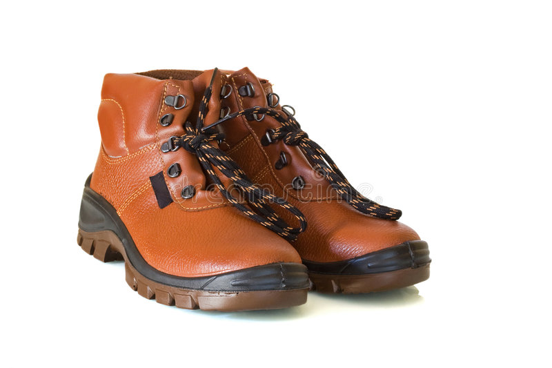 Safety shoes royalty free stock photography