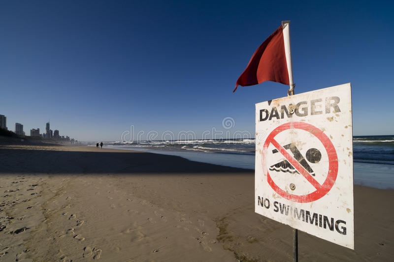 Download Safety Signs - Danger No Swimming Stock Image - Image: 16186411