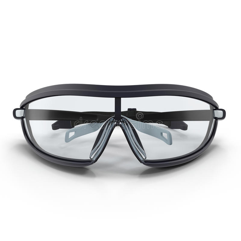 Free Safety Sport Glasses On White. 3D Illustration Royalty Free Stock Photos - 83698908