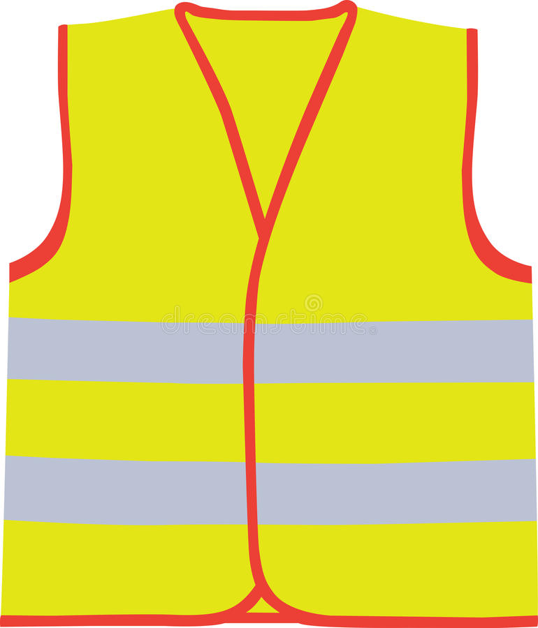 Download Safety vest stock vector. Image of isolated, darkness - 28824290